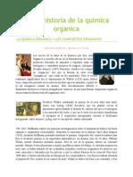 Historia de La Química Orgánica