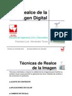 Realce de La Imagen Digital