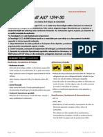 Shell Advance 4T AX7 15W-50