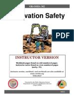 Excavation Instructor Version