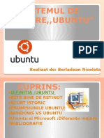 Sistemul de Operare Ubuntu