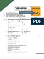 Maths HSC paper