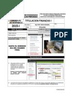 Trabajo Academico Titulacion - Finanzas i - 2015 - i