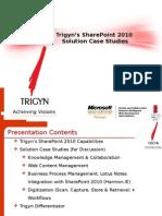 Trigyn SharePoint 2010 Presentation