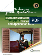 Madhvani Foundation Scholarships 2015/2016