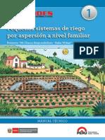PEQUEÑOS SISTEMAS DE RIEGO POR ASPERCION A NIVEL FAMILIAR.pdf