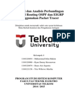 Perbandingan Routing OSPF dengan Routing EIGRP