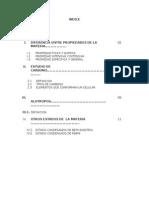 Estructuras y Estados de La Materia