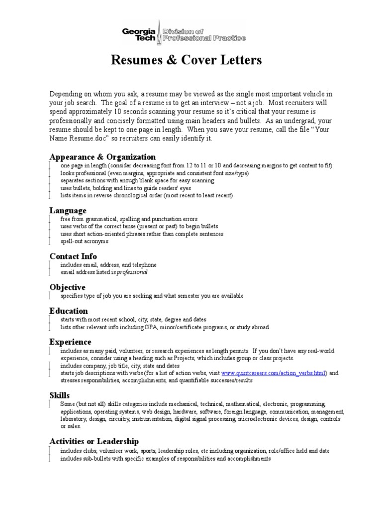 Font Size Cover Letter from imgv2-1-f.scribdassets.com