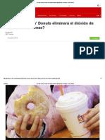 ¿Por Qué Dunkin' Donuts Eliminará El Dióxido de Titanio de Sus Donas_ - BBC Mundo