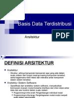 Basis Data Terdistribusi-Arch