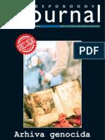 Preporodov Journal,  br. 103 - Arhiva genocida