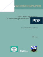 Sudan Peace Agreements