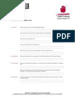 Franchise Partner Questionnaire