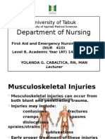 5. Musculoskeletal Injuries