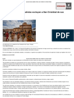 Agencias de Viajes Españolas Excluyen a San Cristóbal de Sus Destinos Turísticos