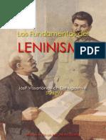 Los Fundamentos Del Leninismo Stalin