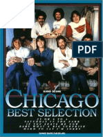 Chicago Best Selection (JP-SCORE-IsBN4401360613)