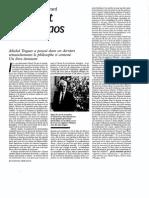 Jean-Pierre Dupuy_Le Christ Et Le Chaos_Nouvel Obs