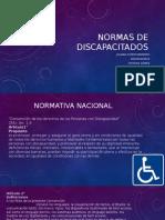 NORMAS DE DISCAPACITADOS construccion III.pptx