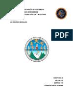 2do Trabajo de Finanzas i - Fuentes de Financiamiento