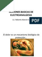 NOCIONES ELECTROANALGESIA