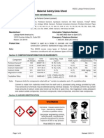 MSDS Portland Cement for HASP