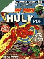 Marvel Team Up 18 Vol 1