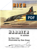 signal squadron SSP 1058 Harrier