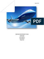 Boeing Investment Strategy