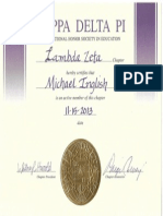 kdp certificate