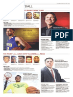 All-City, All-Area Basketball teams