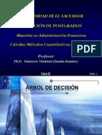 Ejemplo de construcción de Arbol de Decisiones