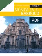 Música en El Barroco