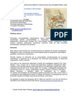 60697570 Psicoterapia Gestalt Personalidad y Odontologia Por Luis Vallester Psicologia