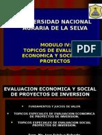 Modulo Vii Topicos Especiales de Evaluacion Economica de Proyectos de [Recuperado]