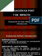 Modulo Viii Evaluacion Ex Post