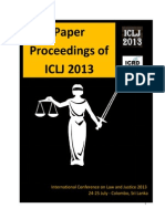 Child Sexual Abuse Prevention and Elimination in Pakistan Published in ICLJ 2013 Conference