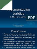 (12) Argumentación Jurídica