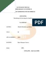 monografia de ciencia
