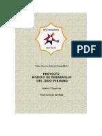 Modelo Desarrollo Judo Peruano