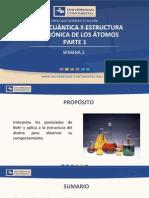 SEMANA 2 -TEORIA CUANTICA Y ESTRUCTURA ELECTRONICA DE LOS ATOMOS 1.pdf