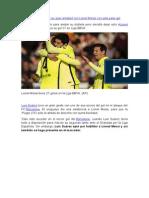 Luis Suárez demostró su gran amistad con Lionel Messi con este pase gol.docx