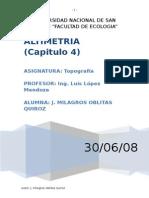 Altimetria Topografia 97 03