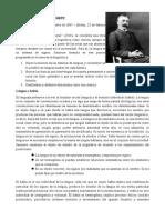 Lenguaje-Saussure Chomsky Etno Bajtin
