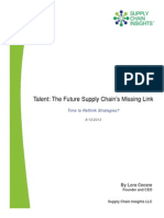 Supply Chain Talent