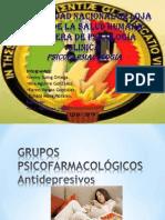 Grupos Psicofarmacológicos - Antidepresivos - Diapositivas