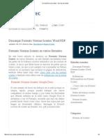 Formato Normas Icontec - Normas de Icontec