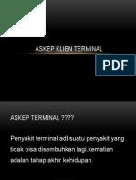 Askep Klien Terminal