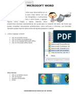 Hoja de Información 1 -Word - Herramientas Básicas de Word